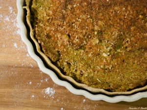 Une belle tarte aux brocolis