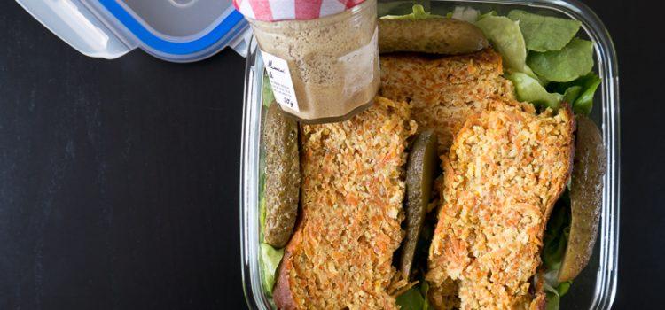 Quoi de mieux que d'emporter sa lunch-box végétalienne au travail ?