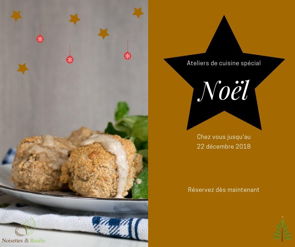 Les ateliers de cuisine spécial Noël sont arrivés et n'attendent plus que vous !