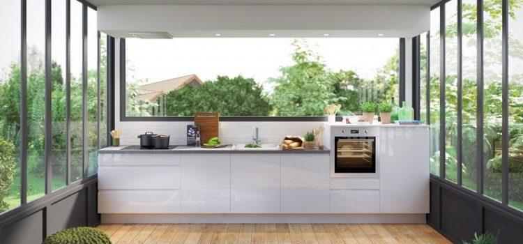 Une jolie cuisine simple et minimaliste