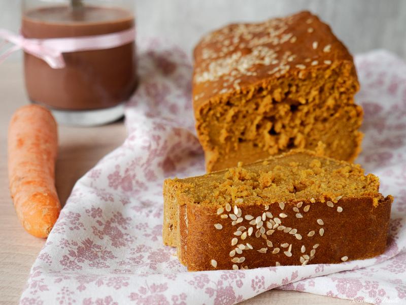 Un délicieux carrot cake pour mettre des légumes au goûter ou au dessert