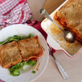 Des lasagnes 100% maison et végan ou végétarienne selon tes envies, miam !