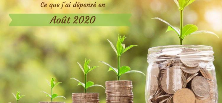 Coût de l'alimentation écologique – août 2020
