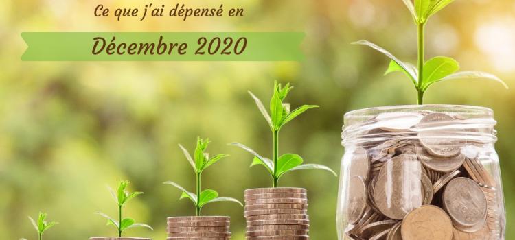 Coût de l'alimentation écologique – décembre 2020